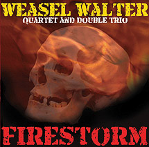 "Download jazz mp3 ""Continual Rage"" by Weasel Walter Quartet (featuring Marshall Allen)"